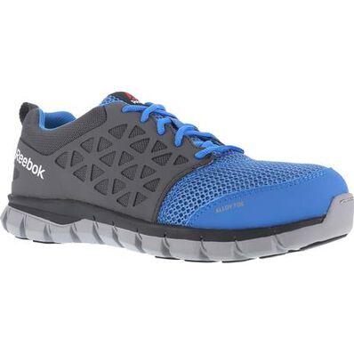 Reebok Sublite Cushion Work Alloy Toe Static-Dissipative Work Athletic Shoe, , large
