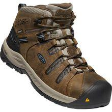 KEEN Utility® Flint II Mid Men's Steel Toe Electrical Hazard Waterproof Work Hiker