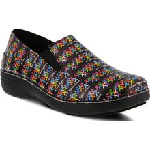 Spring Step Ferrara Fighter Women's Slip-Resistant Slip-On Work Shoe