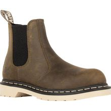 Dr. Martens Arbor Women's 5.5 inch Steel Toe Electrical Hazard Pull-on Chelsea Work Boot