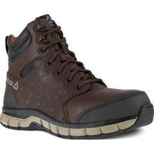 Reebok Sublite Cushion Work Men's 6 inch Composite Toe Electrical Hazard Athletic Work Shoe