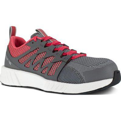 Reebok Fusion Flexweave Work Women's Composite Toe Static-Dissipative Athletic Work Shoe, , large