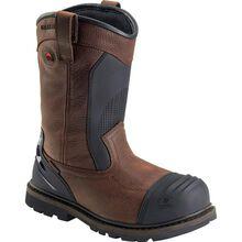Avenger Men's 11 inch Metatarsal Guard Carbon Nanofiber Toe Puncture-Resistant Waterproof Work Wellington