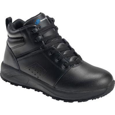 Nautilus SkidBuster Men's 5 inch Electrical Hazard Slip-Resistant Non-metallic Athletic Work Shoe, , large