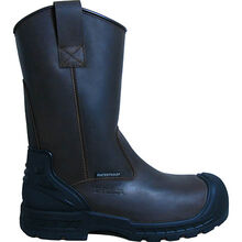 S Fellas by Genuine Grip Men's 6400 Composite Toe Puncture Resistant Waterproof Wellington Work Boots