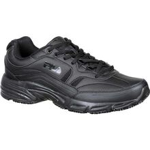 Fila Wide Memory Workshift Slip-Resistant Work Athletic Shoe