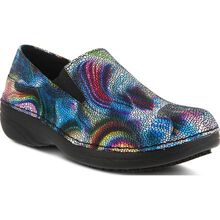 Spring Step Manila Boreal Women's Slip-Resistant Leather Slip-On Shoe