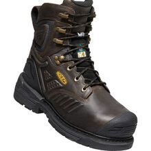 KEEN Utility® Philadelphia Men's 8 Inch CSA Carbon-Fiber Toe Internal Met Guard Waterproof Work Boot
