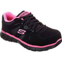 SKECHERS Work Synergy Sandlot Women's Alloy Toe Work Athletic Shoe