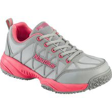 Nautilus Women's Composite Toe Slip-Resistant Work Athletic Shoe