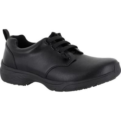 Easy WORKS by Easy Street Peyton Women's Slip-Resistant Oxford Work Shoes, , large