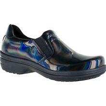 Easy WORKS by Easy Street Bind Women's Iridescent Patent Leather Slip-Resisting Clog