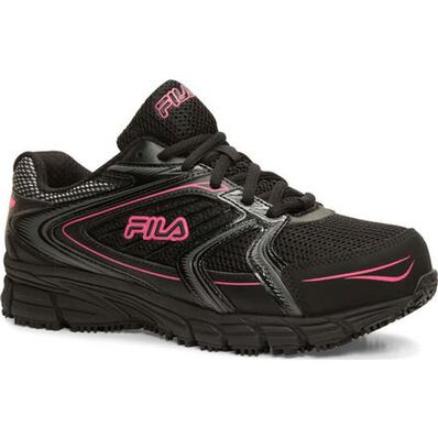 Fila Memory Reckoning 8 Women's Steel Toe Slip-Resistant Work Athletic Shoe, , large