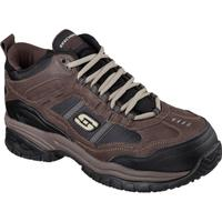 SKECHERS Work Soft Stride-Canopy Men's 5 inch Composite Toe Electrical Hazard Athletic Work Hiker, , medium