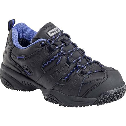 Nautilus Women's Composite Toe Slip-Resistant Waterproof Work Athletic Shoe