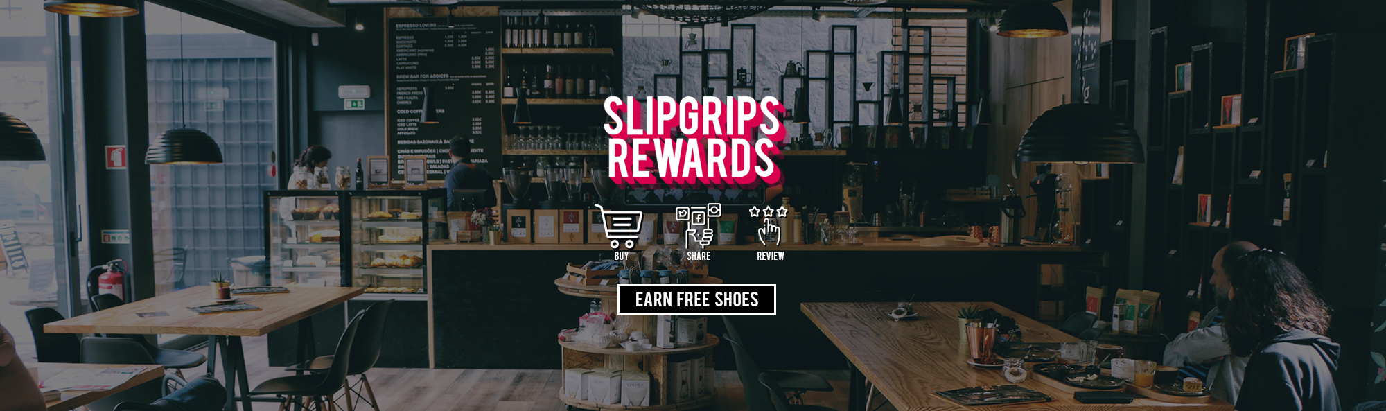 Earn free shoes by shopping, sharing, and more!